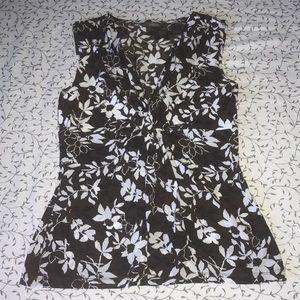 LIZ CLAIBORNE Floral Top